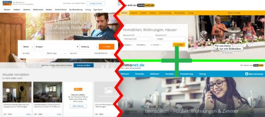 Die Anzeigenpreise der Immobilienportale ImmobilienScout24, Immonet und Immowelt im Vergleich. www.DeinMetrolife.de bietet dir eine übersichtliche Zusammenfassung.